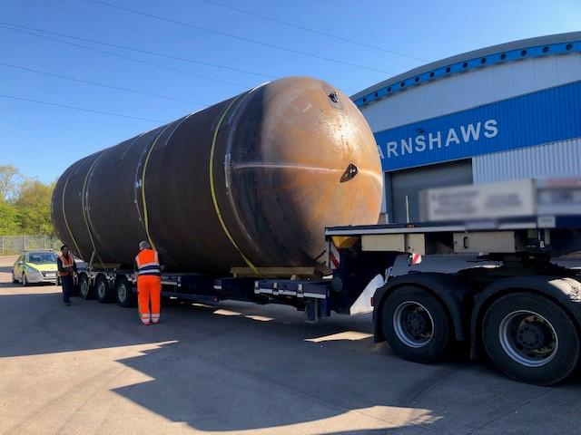Firma Barnshaws po raz kolejny przekroczyła własne granice produkując największy spawany zbiornik. second image
