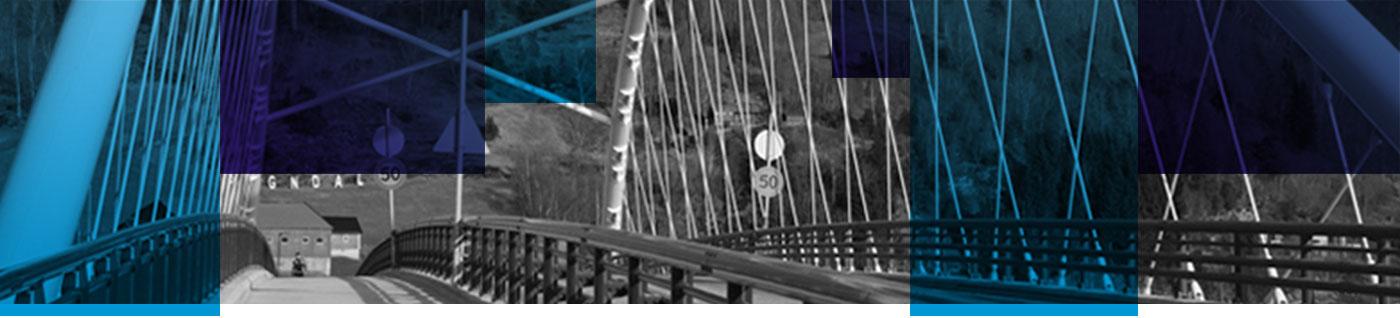 Most nad fjordem w Norwegii potwierdza nasze możliwości gięcia