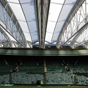 Barnshaws provided 66 sections of precision curved steel for Centre Court at Wimbledon